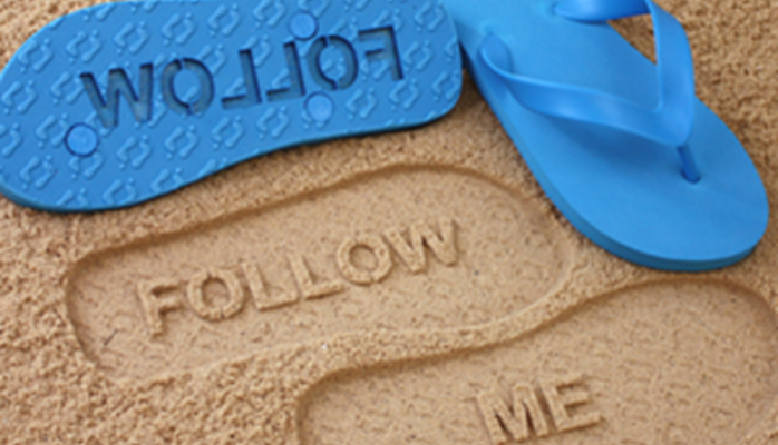 how to like or follow linkedin pages as a company